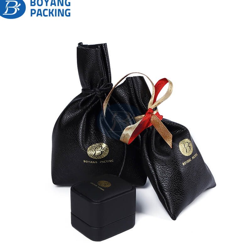 Pu drawstring bags wholesale