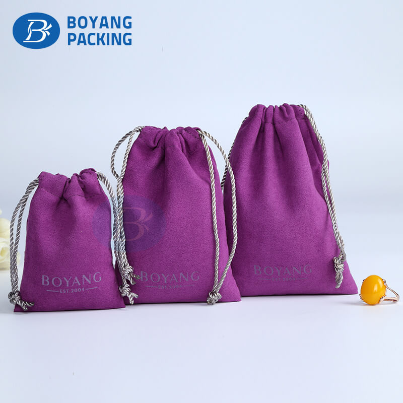 Beautifully velvet pouches wholesale