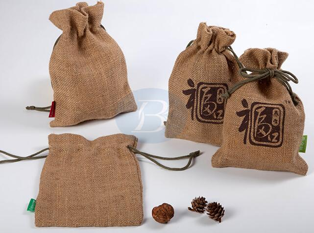jute jewelry bags factory