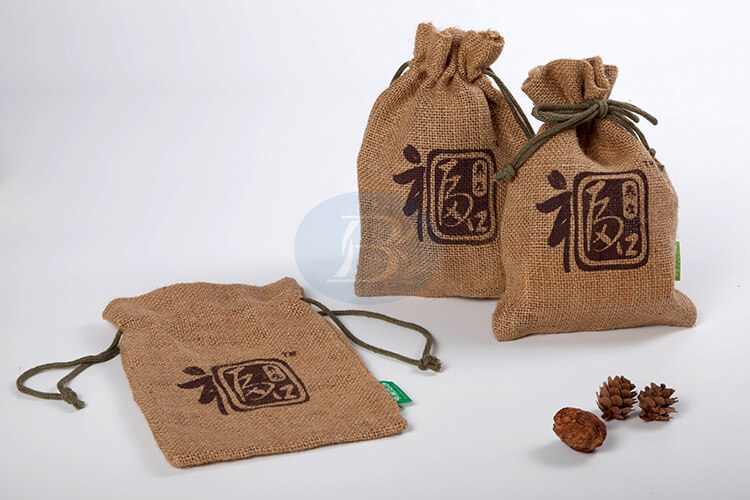 custom jute bags wholesale