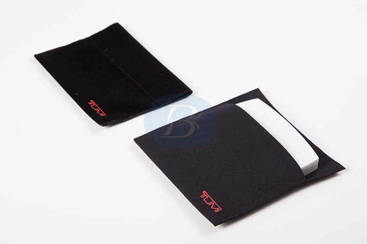 envelope velvet pouch bag supplier