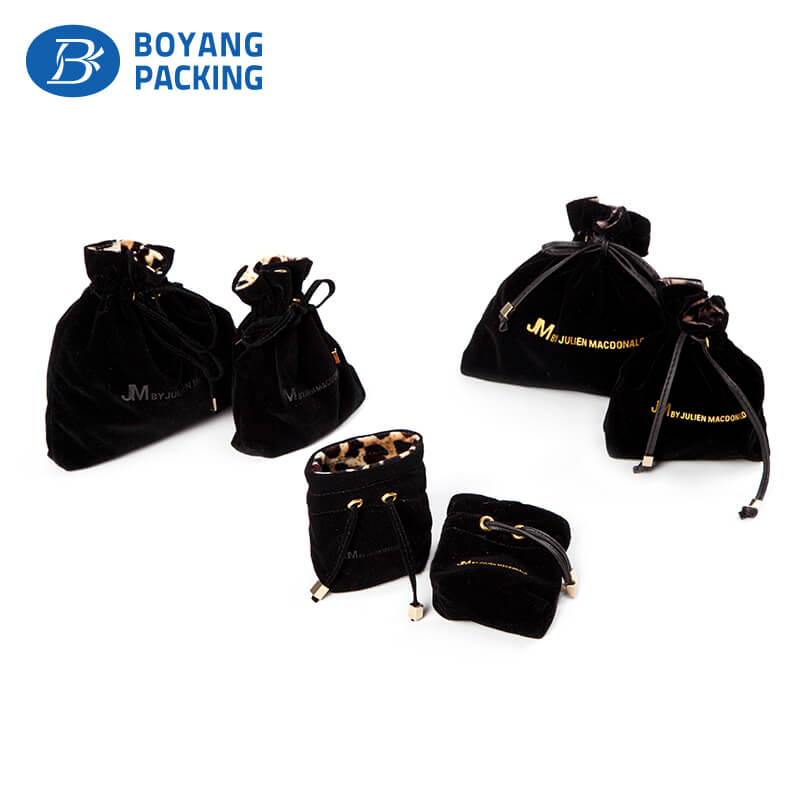 Black velvet packaging pouch, packaging pouches manufacturers