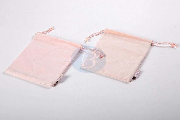 wholesale pink velvet pouch suppliers