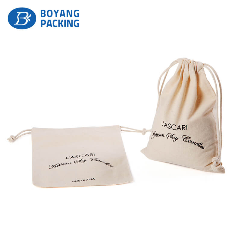 Simple and practical design cotton dust pouch manufacturer