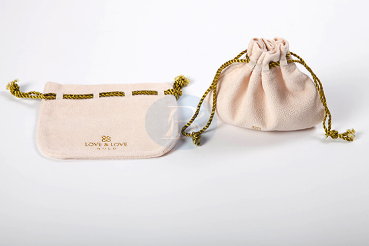 delicate charming drawstring pouches for jewelry wholesale