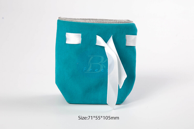 custom blue gift bags wholesale factory