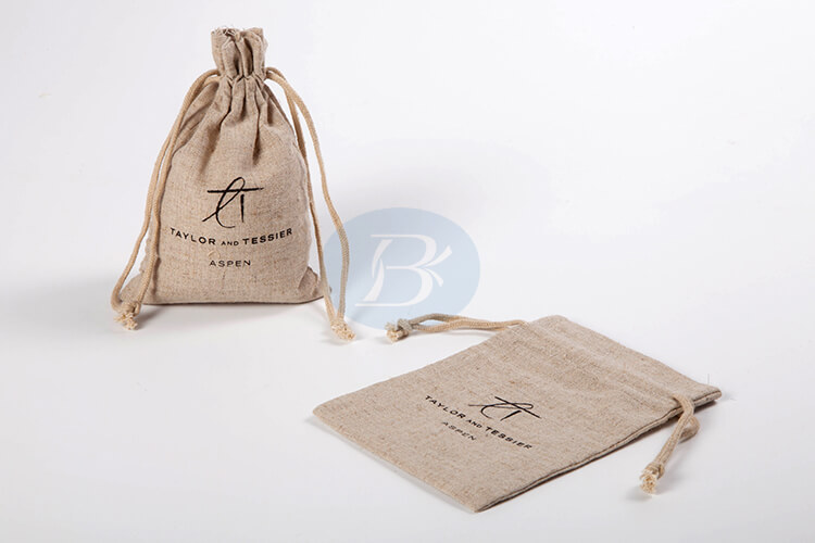 personalized jute bags custom