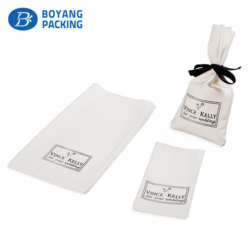 Custom canvas small pouches for gifts manufacturer