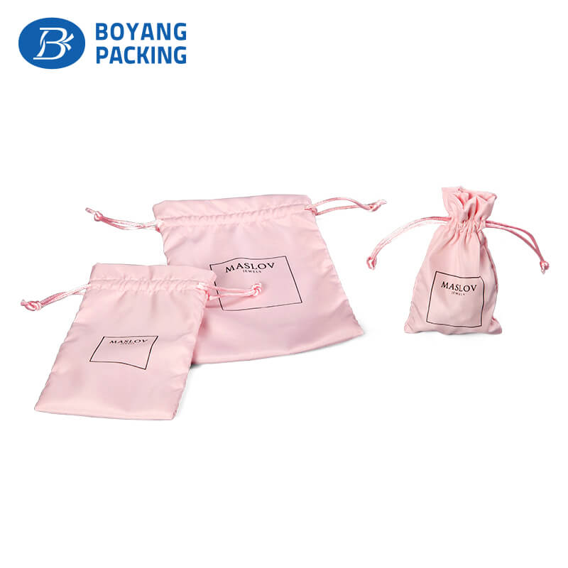 Satin bags production factory