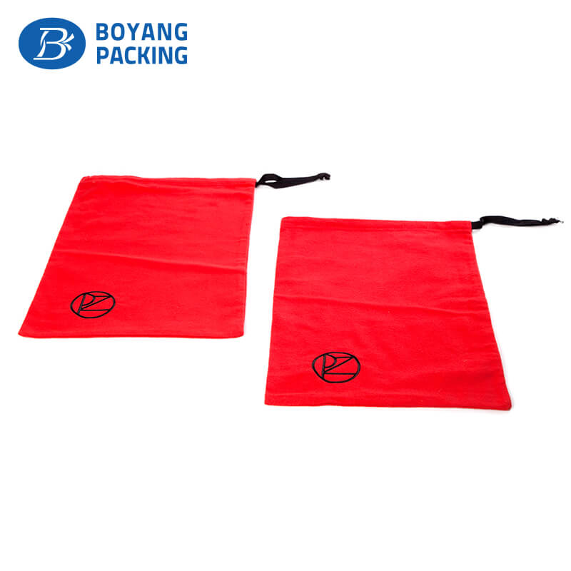 Colourful red dust cotton pouch design manufacturer