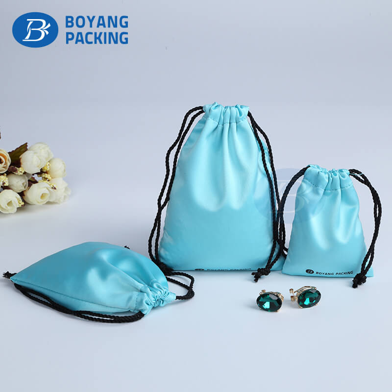 jewelry bags wholesale drawstring