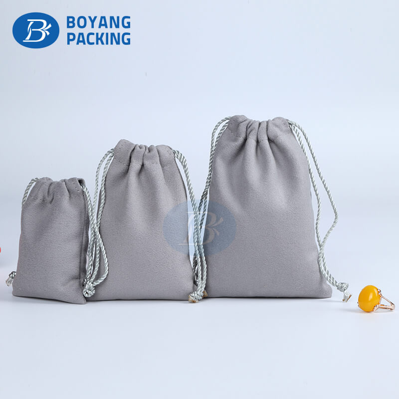 drawstring jewelry pouch wholesale