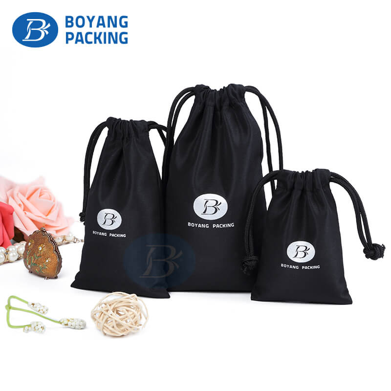 Cotton drawstring bags wholesale,jewelry pouches wholesale.